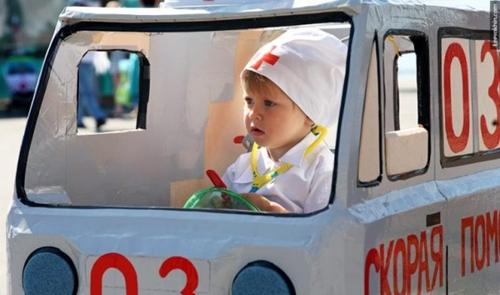 disfraz carrito2 Disfraces caseros para bebés con carrito