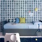 Habitaciones juveniles con papeles pintados