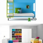 Muebles infantiles y juveniles a tope de color