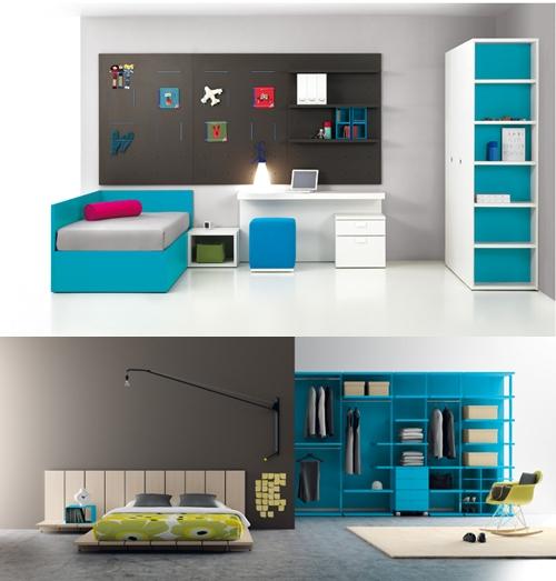BM2000 9 Muebles infantiles y juveniles a tope de color
