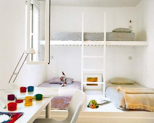 Habitaciones para hermanos bien planificadas - DecoPeques