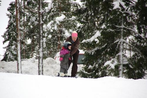 nieve2 Mamás del Mundo: Estilo de vida finlandés