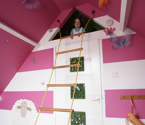 Ikea Poang Chair Oak Veneer ~ Ikea y los niños decoración de habitaciones infantiles