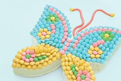 Tarta Mariposa para una fiesta infantil