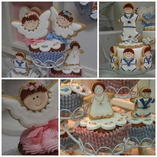 tartas primera comunion Especial Primera Comunión: la tarta y los cupcakes