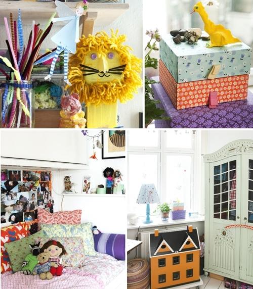 La puerta de la habitaci n infantil decopeques - Decoracion con cosas recicladas ...