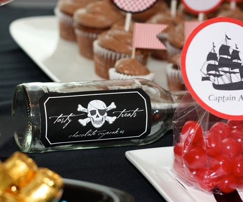fiesta infantil pirata   decopeques