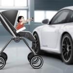 Porsche también es una silla de paseo.