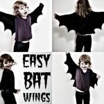 DIY: Alas de Murcielago para Halloween