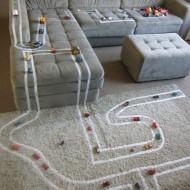 DIY: Un circuito de carreras muy casero