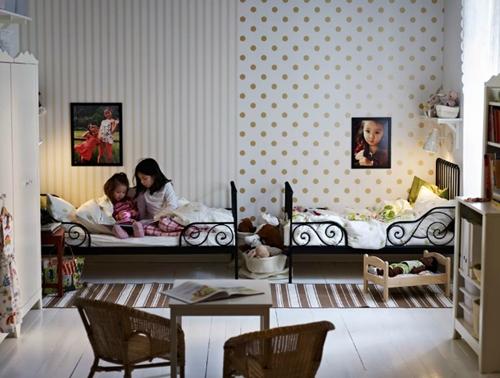 Idea para habitaciones compartidas decopeques - Habitaciones infantiles compartidas ...