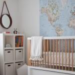La habitación infantil de Sebastián.