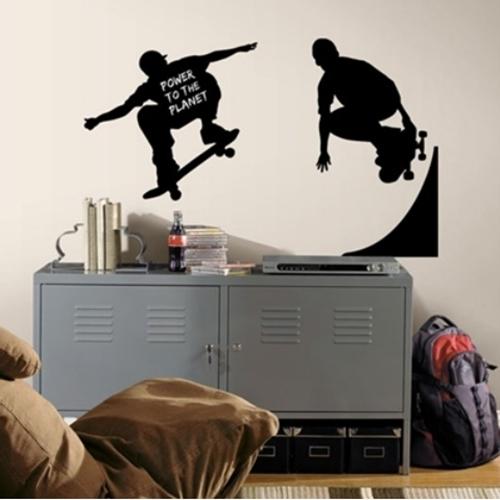 Vinilos juveniles para decorar la habitacion for Vinilos decorativos dormitorios juveniles
