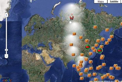 ruta papa noel ¡Increible!, sigue la ruta de Papa Noel en directo