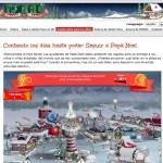 ¡Increible!, sigue la ruta de Papa Noel en directo