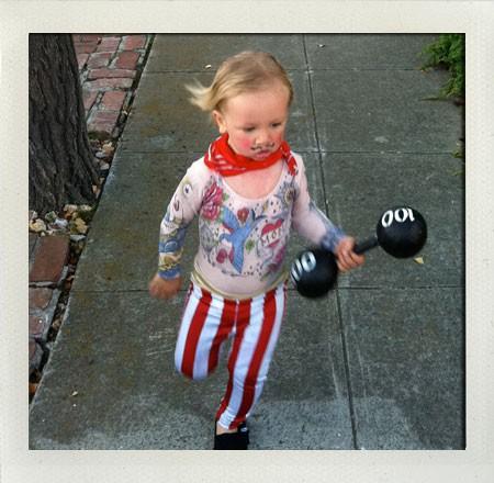 disfraz casero forzudo Disfraces Caseros para niños