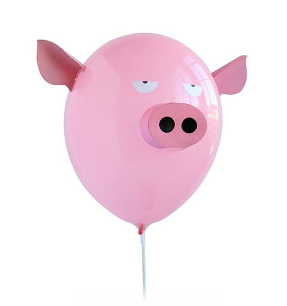 Decoraci n de globos para fiestas infantiles decopeques - Globos aerostaticos infantiles ...