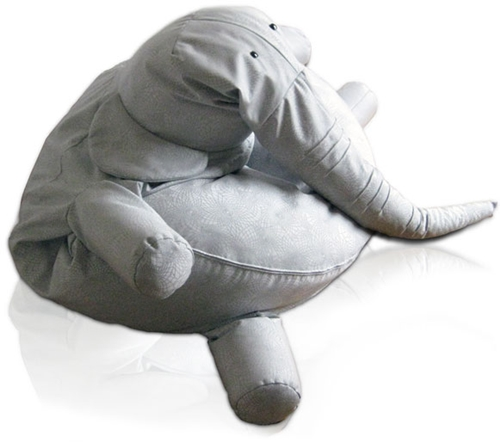 Puf elefante infantil | DecoPeques -Decoración infantil, Bebés y Niños