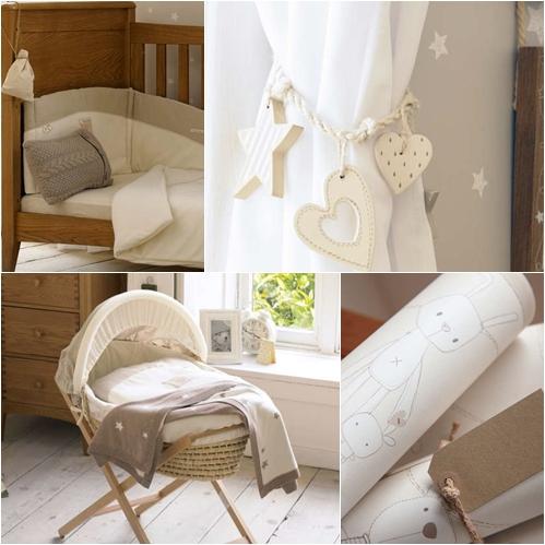 Dormitorio para niños en tonos naturales - DecoPeques