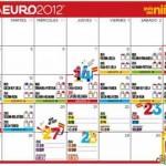 Calendario de la Eurocopa para niños