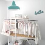 Ambientes que inspiran… Carrito-bici para colgar la ropa