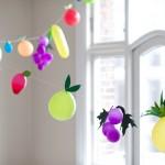 "Globos Fruta para fiestas infantiles muy ""sanas"""