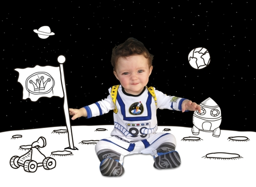 pijamas para niños astronauta Pijamas The kings of the house...un regalo muy original