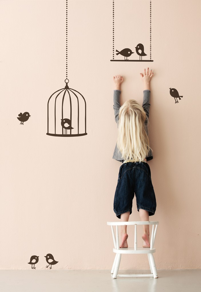Vinilos infantiles de ferm living decopeques - Imagenes para decorar paredes ...