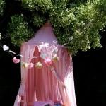 Un picnic para niñas al aire libre