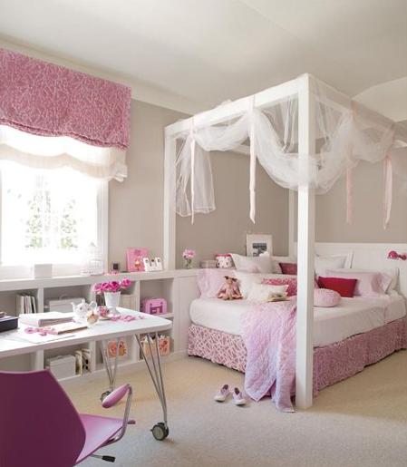 12 habitaciones para ni as decopeques - Dosel cama nina ...