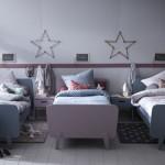 Ambientes que inspiran: Habitación para tres