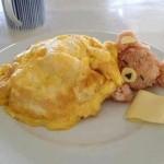 Hoy de cena… Osito dormilón de tortilla y arroz