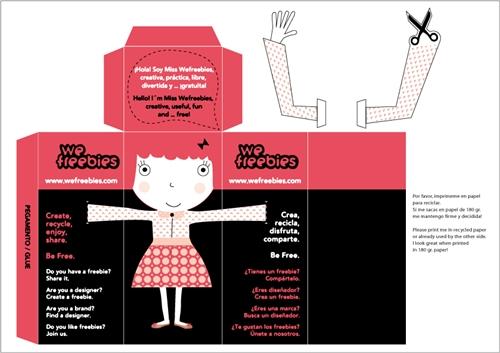 We Freebies  Primera plataforma de diseños de papel para imprimir gratis