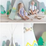 DIY:  Crea tu propio Tipi para los niños