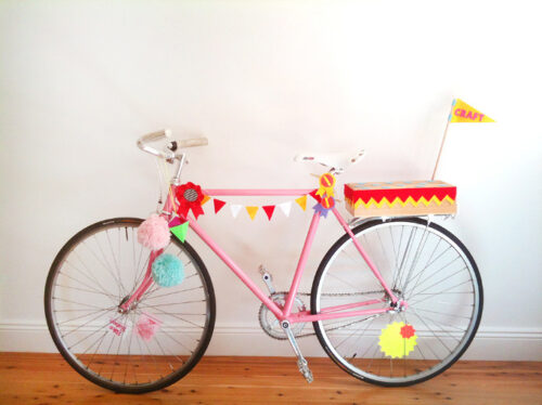 craft bike 500x374 Craft Bike... una bici lista para decorar