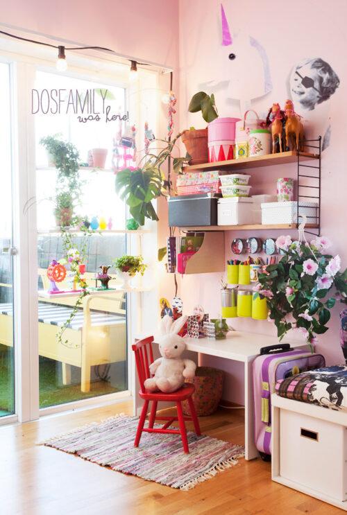 Una habitación infantil llena de color y optimismo