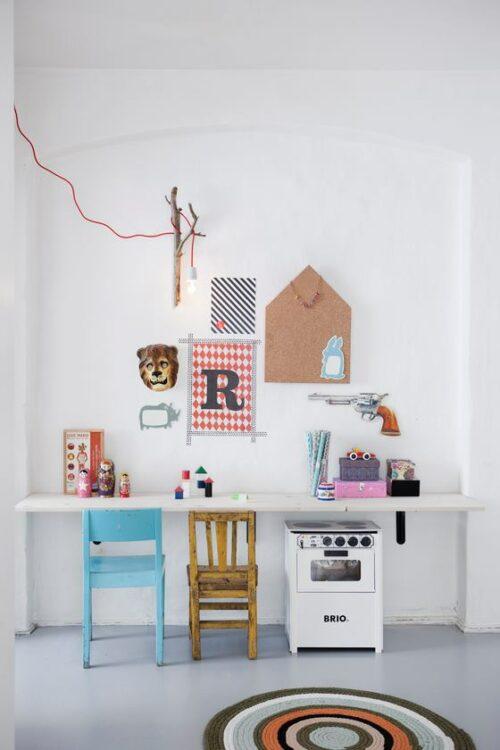 habitacion living ferm living 3 500x750 Dormitorio infantil para dos hermanos