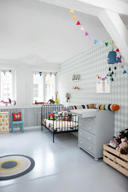 habitacion living ferm living 6 500x750 Dormitorio infantil para dos hermanos