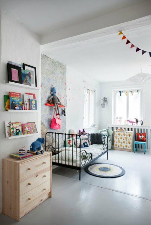 Dormitorio infantil para dos hermanos - DecoPeques
