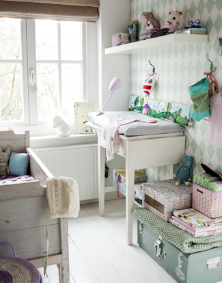 Dormitorio de bebé rústico - DecoPeques