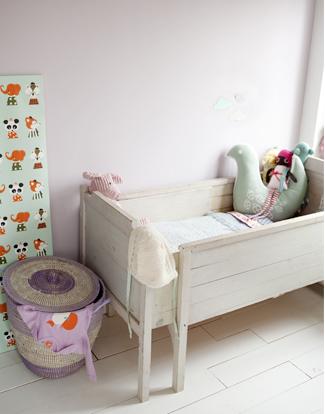 dormitorio bebe 2 Dormitorio de bebé rústico