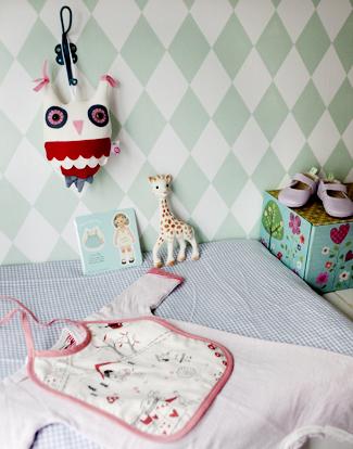 dormitorio bebe3 Dormitorio de bebé rústico