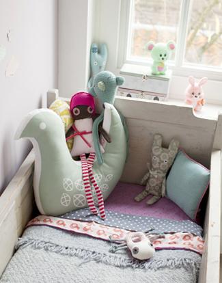 dormitoriobebe4 Dormitorio de bebé rústico