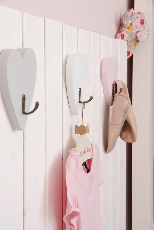 habitacion niña 2 500x746 Habitación para niña en rosa