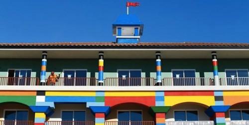 Espacios Cool para Niños... Hotel Lego en California