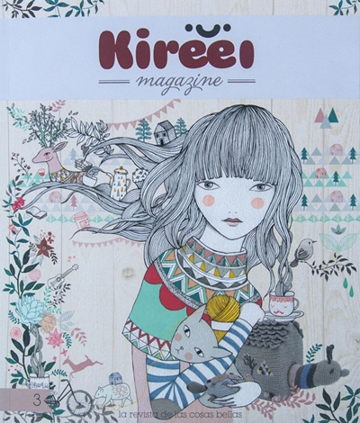Kireei Magazine 3 ya está a la venta