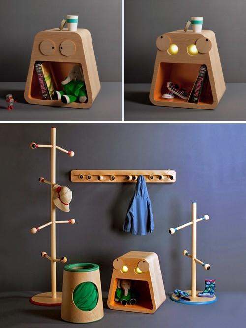 Colecci n de muebles infantiles little helpers decopeques for Muebles originales para ninos