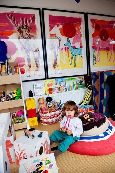 arte habitacion infantil 4 Arte en la Habitación Infantil