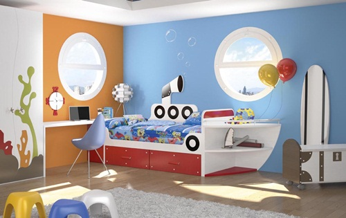 Camas infantiles de futbol imagui for Muebles y camas infantiles