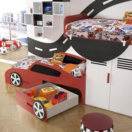Muebles infantiles tematizados la opci n decorativa que for Muebles infantiles la valenziana